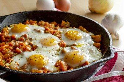 Receta de Boniato con Huevos