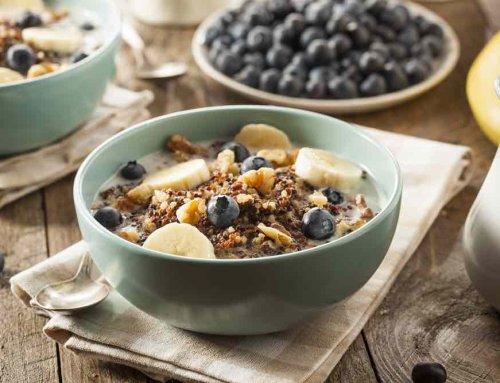 Desayuno de quinoa, nutritivo y sabroso