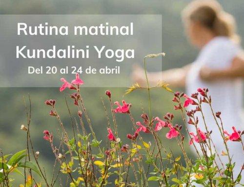 Del 20 al 24 de abril: Kundalini Yoga en directo