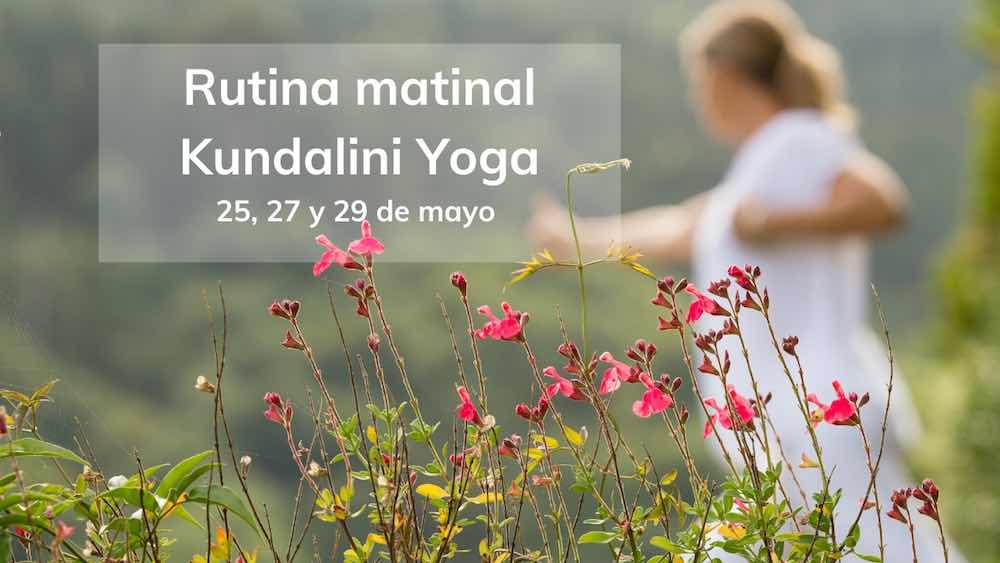 Rutina matinal kundalini yoga